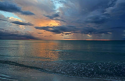 Photograph - Sunset - After The Storm by HH Photography of Florida