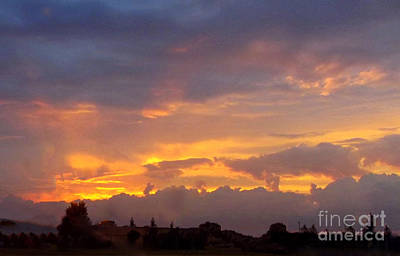 Photograph - Sunset After The Storm by Linda Rae Cuthbertson