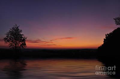 Tourism Digital Art - Sunset by Aged Pixel
