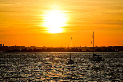 Sunset  Print by Allan Millora Photography