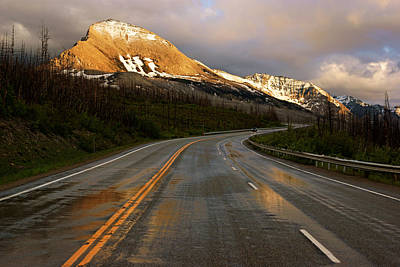 Photograph - Sunset Along Highway 89 by Daniel Woodrum