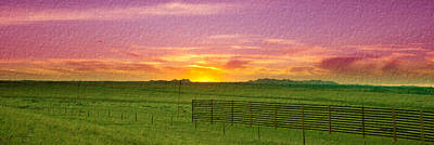 Photograph - Sunset Along Highway by Crystal Wightman