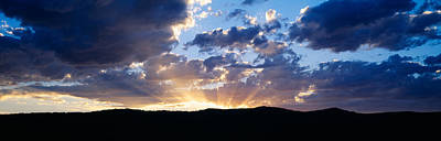 Sunrises And Sunsets Photograph - Sunset Along Route 95, Idaho by Panoramic Images