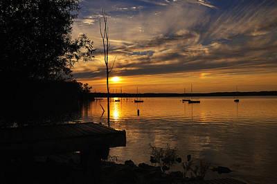 Digital Art - Sunset by Angel Cher