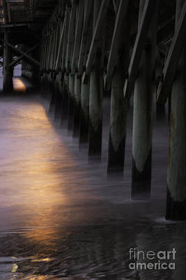 Photograph - Sunset Apache Pier by David Waldrop