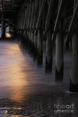 Photograph - Sunset Apache Pier by David Waldrop