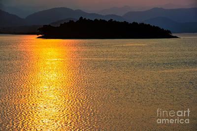 Shore Digital Art - Sunset Asia  by Adrian Evans