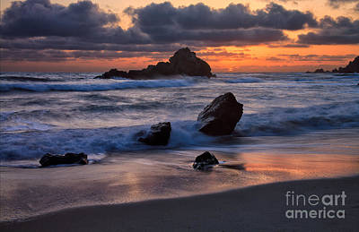 Photograph - Sunset At Big Sur II by Stuart Gordon