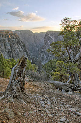 Photograph - Sunset At Black Canyon by Eric Rundle