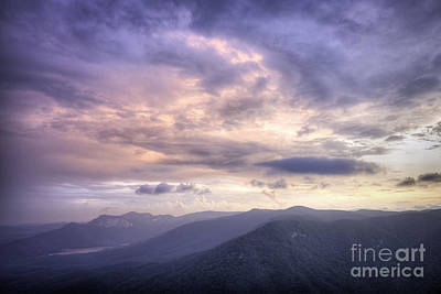 Photograph - Sunset At Caesars Head by David Waldrop