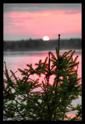 Photograph - Sunset At Canal Lake 2 by Michaela Preston