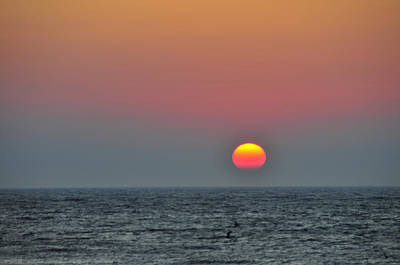 Photograph - Sunset At Cape Cod Bay by Brian Hoover