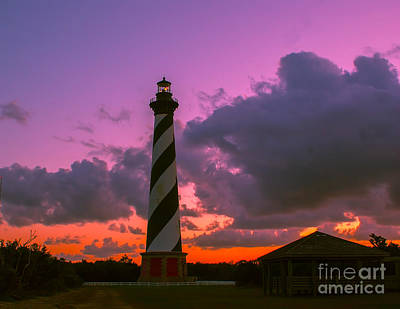 Photograph - Sunset At Cape Hatteras by Nick Zelinsky