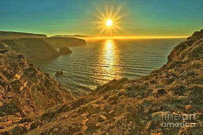Photograph - Sunset At Cavern Point by Adam Jewell