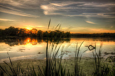 Photograph - Sunset At Cootes Bay by Craig Brown