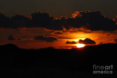 Photograph - Sunset At Crystal Beach by Mark McReynolds