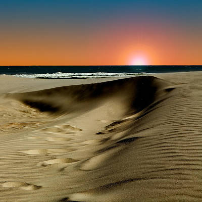 Photograph - Sunset At Dunes by Denis Lemay