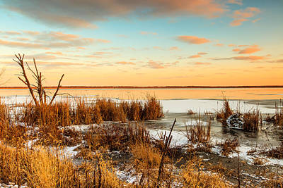 Photograph - Sunset At Emiquon by Ben Graham