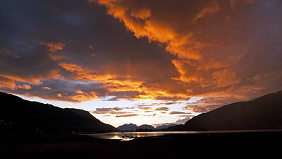 Photograph - Sunset At Glencoe Scotland Uk by Dubi Roman