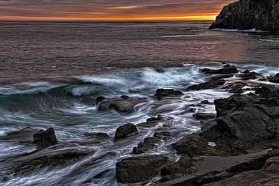 Gullivers Hole Photograph - Sunset At Gullivers Hole by Marty Saccone