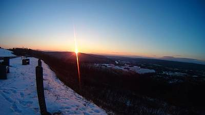 Elmira Ny Photograph - Sunset At Harris Hill by Alex Stiles AllStyles Production