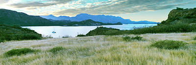 Sunset At Islands Of Loreto Near Villa Print by Panoramic Images