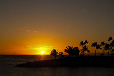 Sunset At Ko Olina Art Print