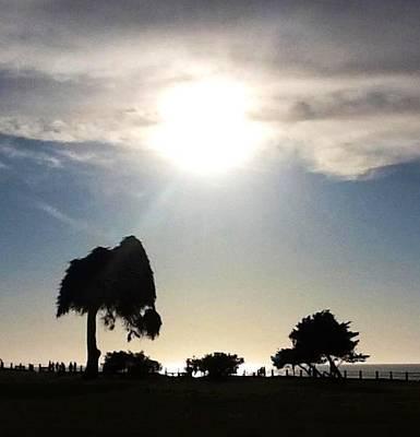 Photograph - Sunset At La Jolla by Susan Garren