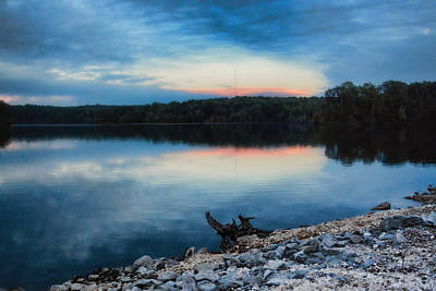 Photograph - Sunset At Lake Graham II by Jai Johnson