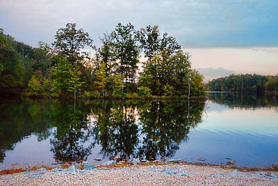Photograph - Sunset At Lake Graham by Jai Johnson
