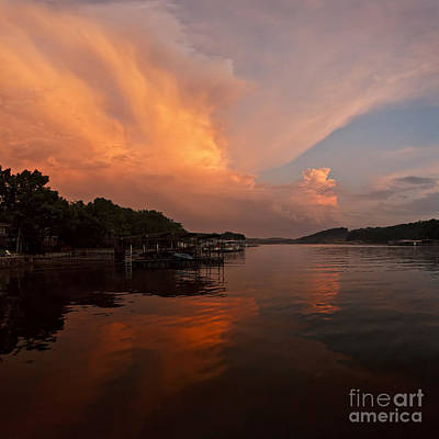 Photograph - Sunset At Lake Of The Ozarks by Dennis Hedberg