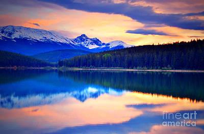Photograph - Sunset At Lake Patricia by Tara Turner