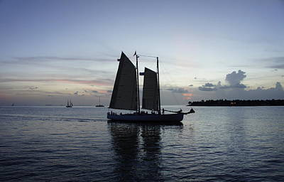 Mallory Square Key West Wall Art - Photograph - Sunset At Mallory by Laurie Perry