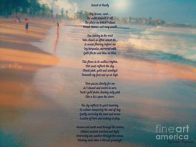 Mixed Media - Sunset At Manly - 1 by Leanne Seymour