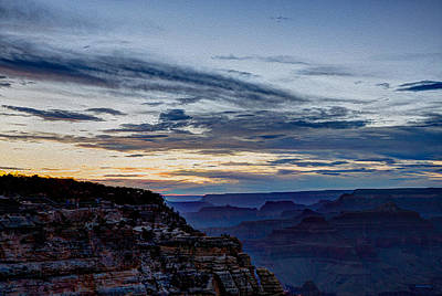 Photograph - Sunset At Mather Point by John M Bailey
