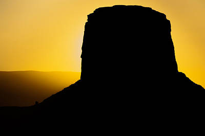 Photograph - Sunset At Monument Valley by Gregory Ballos