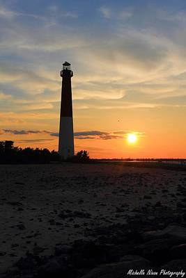Sunset At Old Barney Art Print by Michelle Nixon