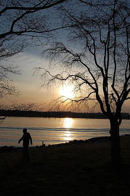 Photograph - Sunset At Potomac  by Fareeha Khawaja