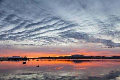 Sunset At Puerto Natales Art Print by Tim Grams