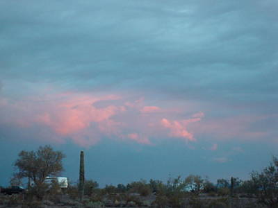 Photograph - Sunset At Quartzsite by Susan Woodward