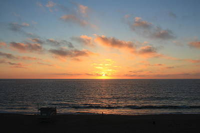 Photograph - Sunset At Redondo Beach by Daniel Schubarth