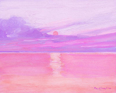 Painting - Sunset At Sea by J Reifsnyder