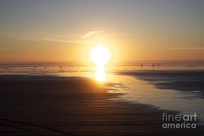 Photograph - Sunset At Seabrook by Terri Thompson