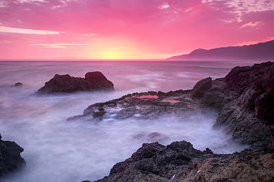 Sausalito Photograph - Sunset At Shelter Cove by Chris Frost