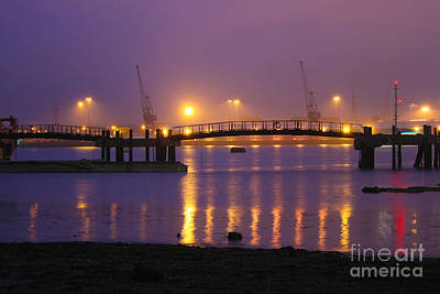 Photograph - Sunset At Southampton Docks by Terri Waters