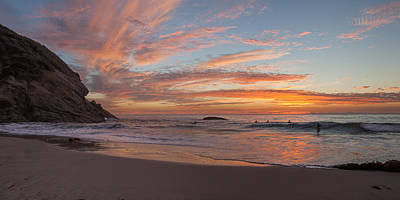 Photograph - Sunset At Strands Beach by Cliff Wassmann