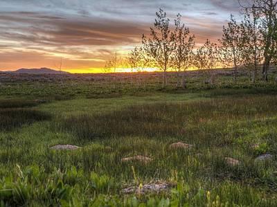 Photograph - Sunset At Sunflower Flats by Jenessa Rahn