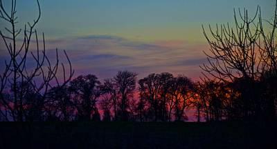 Photograph - Sunset At Thackerville by Ricardo J Ruiz de Porras