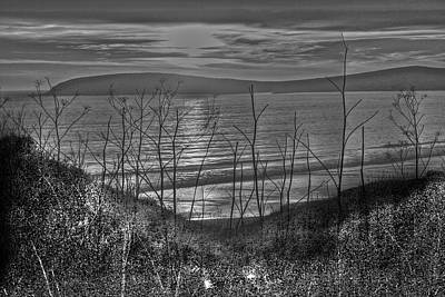 Dusk Photograph - Sunset At The Bay 4 by SC Heffner