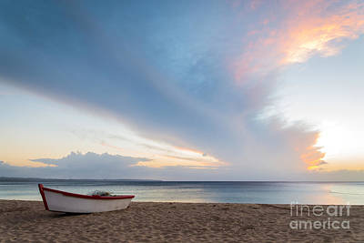 Puerto Photograph - Sunset At The Beach by Paul Quinn